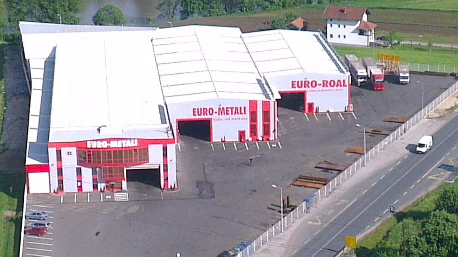 New investment of Euro - metal: An industrial hall of 5.500 m2 is being built