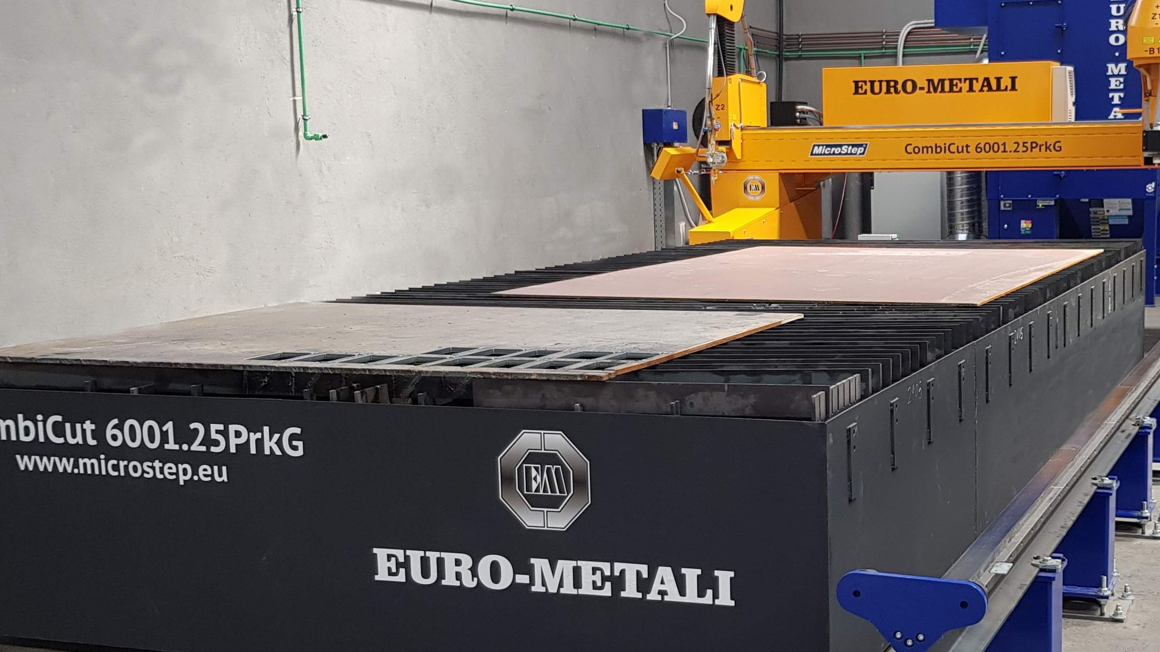 By investing in new technologies, Euro - metals entered a new business segment